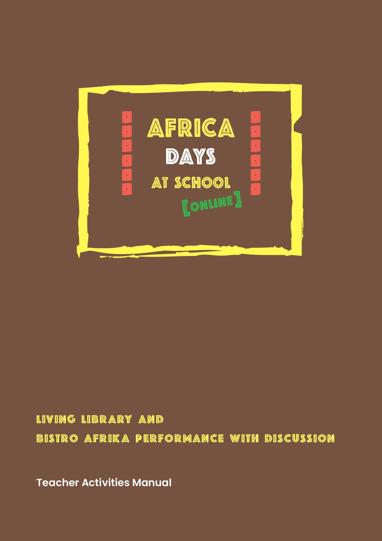 Africa Days at School