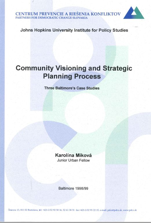 Community Visioning And Strategic Planning Process